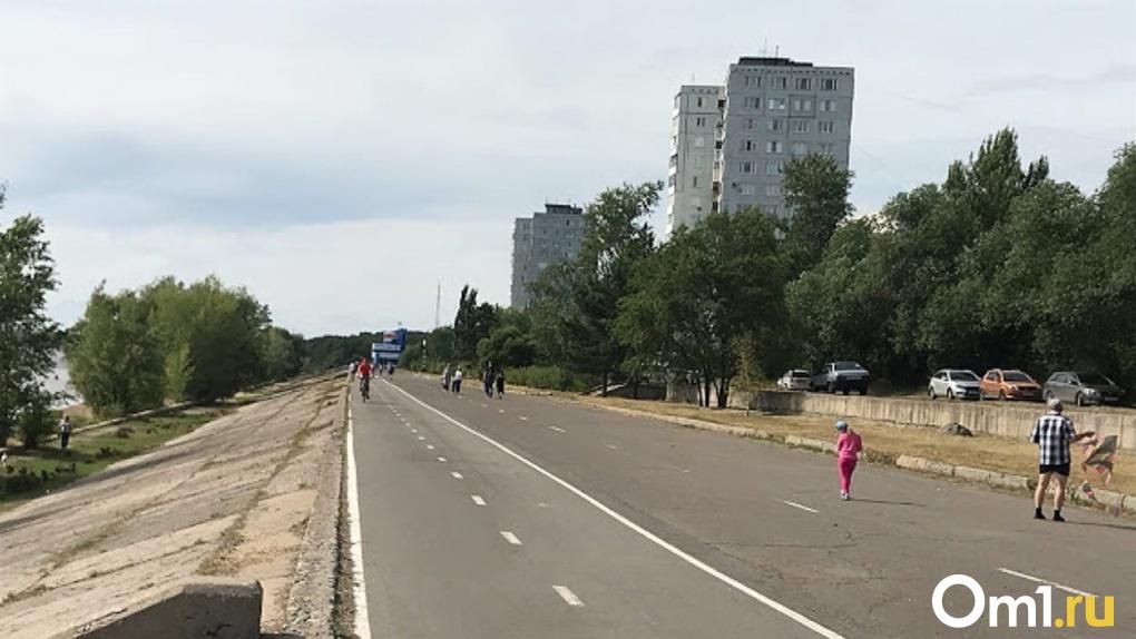 Новая 15-километровая набережная в Омске появится через 5–7 лет