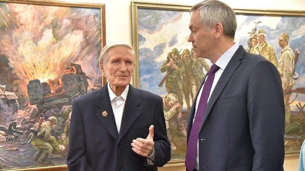 В поезде-музее новосибирского метро откроют экспозицию в честь художника Вениамина Чебанова