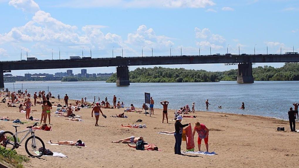 Открытие купального сезона в Омске и области переносится