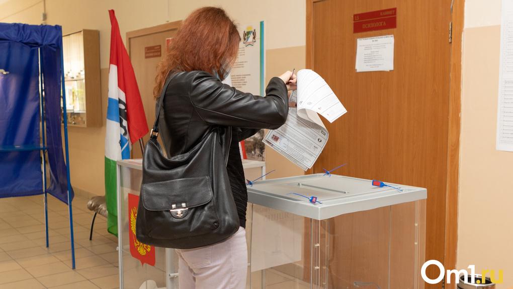 Явка на выборах в Новосибирской области к полудню 19 сентября составила 23,8%