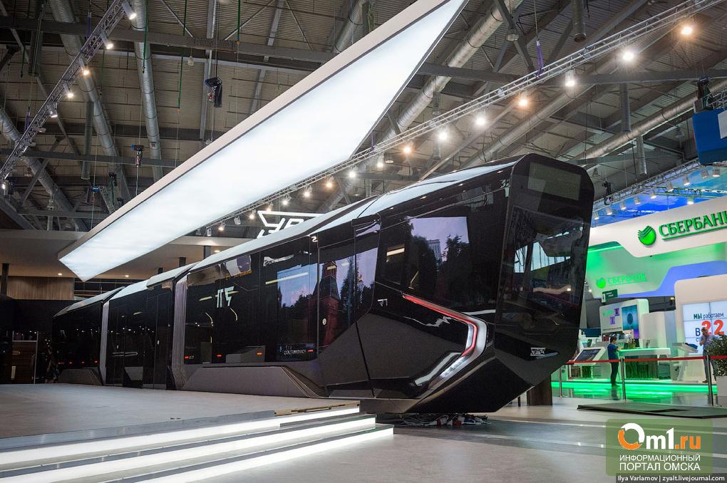 Варламов пообещал Омску трамвай класса люкс
