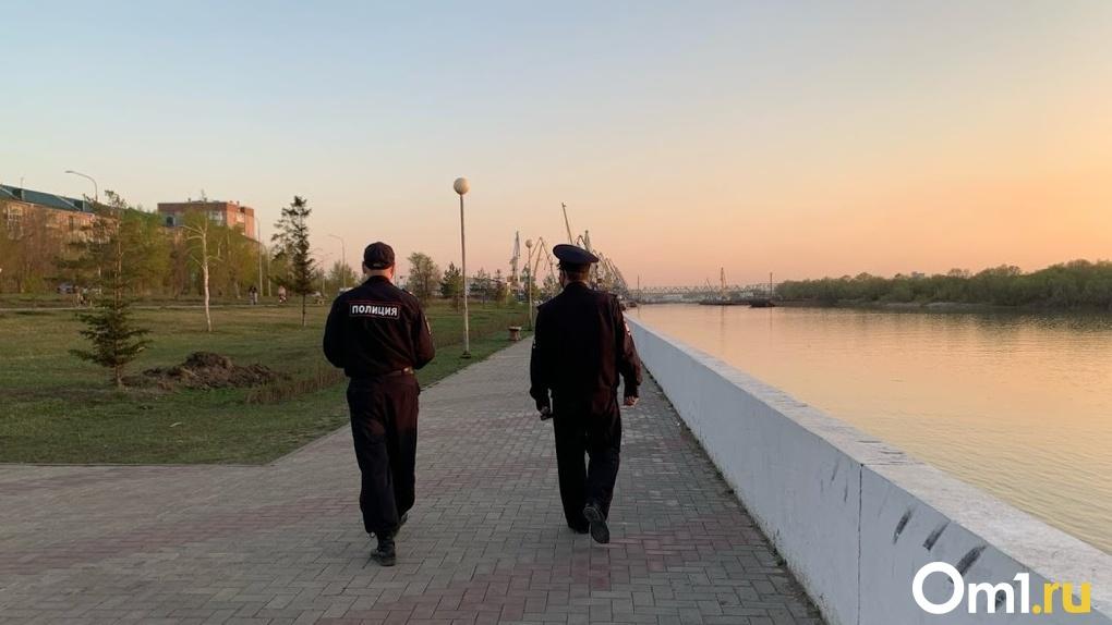 В омской полиции рассказали, чем нарушение самоизоляции отличается от разрешенных прогулок