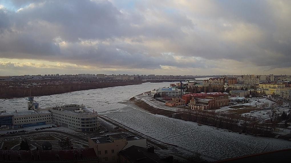 В Омске не будет огромной полыньи