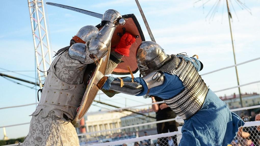 В Омске проходит рыцарский турнир