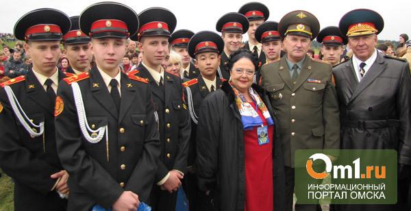 Княгиня Мария Романова побывала на экскурсии в Омском кадетском корпусе