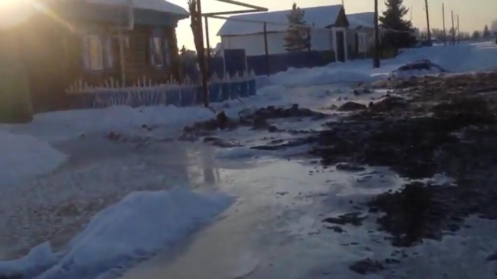 Коммунальная катастрофа произошла в селе под Новосибирском, где живут полторы тысячи человек