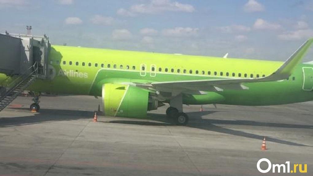 Следственный комитет шерстит аэропорт Толмачёво из-за аварийной посадки самолёта