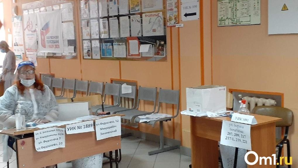 Факт вброса бюллетеней за «Единую Россию» заметили на выборах в Новосибирске