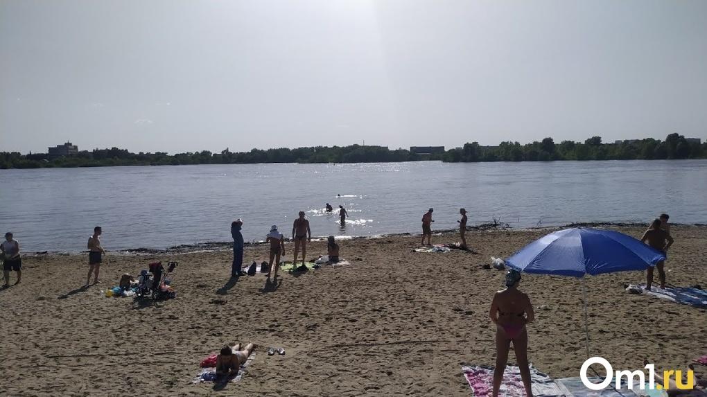 В Омске откроют четыре муниципальных пляжа, но купаться на них не рекомендуется
