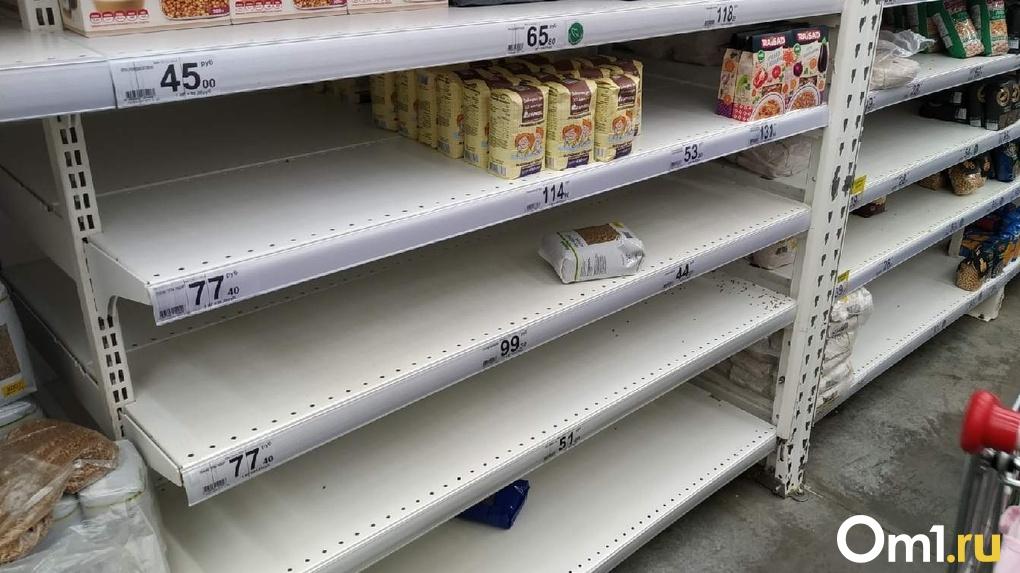 В Омской области гречки осталось на неделю, но сахар «никогда не закончится»