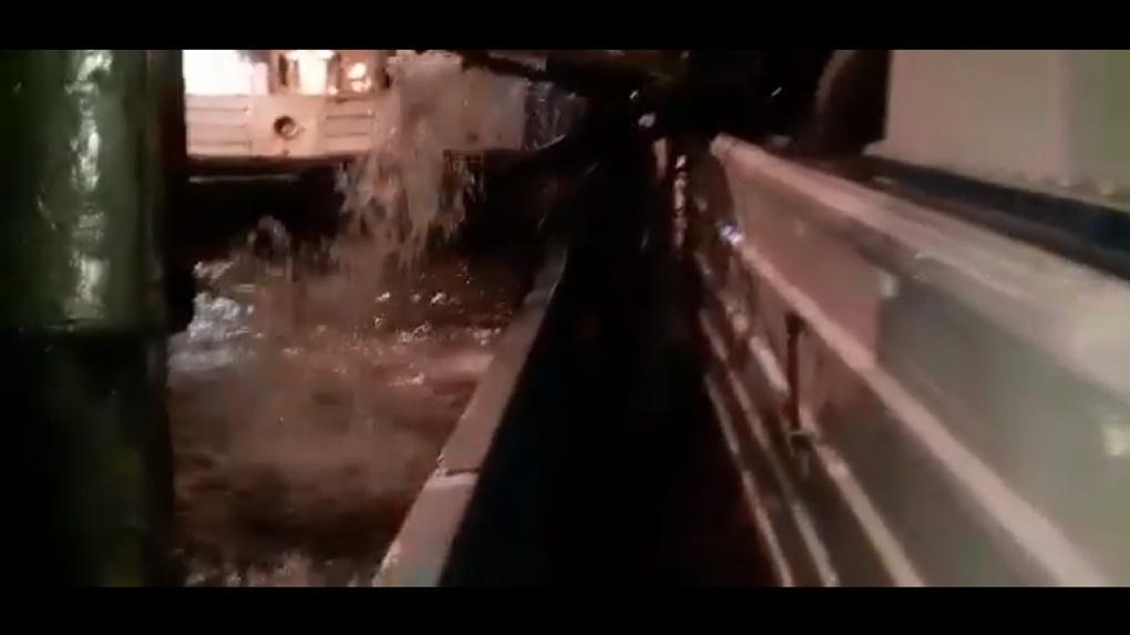 Омское судно потерпело крушение в водах Оби