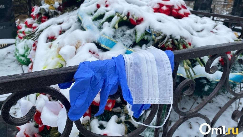 В Омске от коронавируса умерло ещё 8 человек за сутки – это максимум с начала пандемии