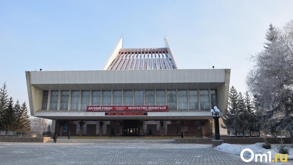 У омской мэрии нет 18 миллионов рублей, чтобы закончить работы на Театральной площади