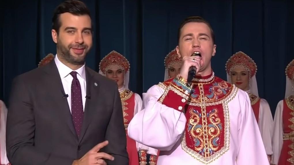 «Паника, шок, волнение»: Валерий Подворный рассказал о поездке омского хора на шоу Ивана Урганта
