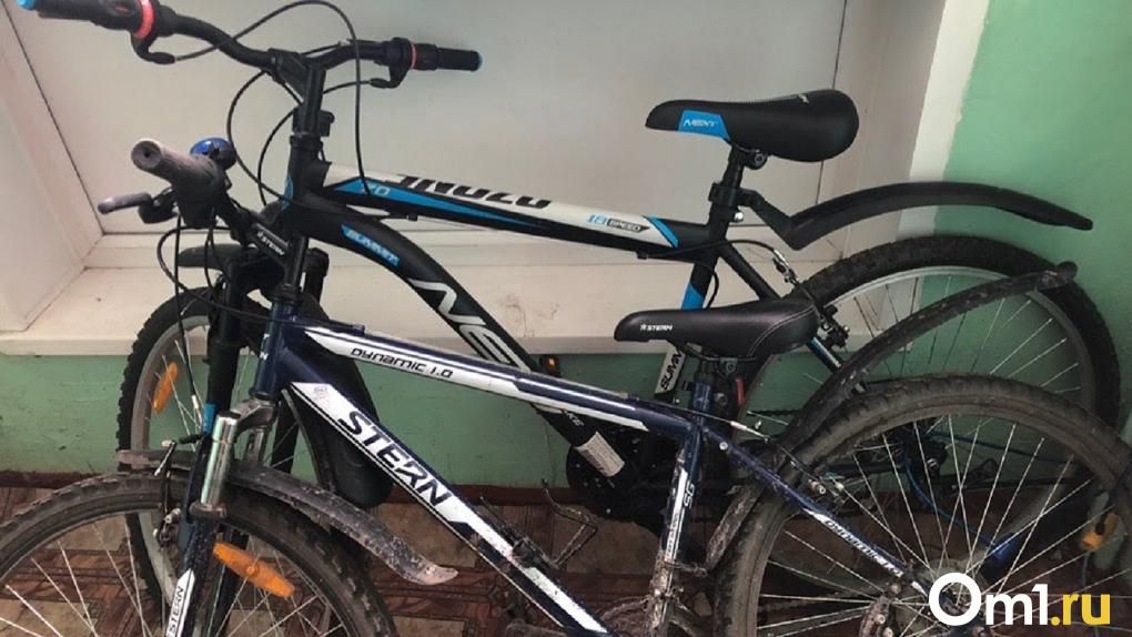 Омич украл велосипед у соседки в 30-градусные морозы
