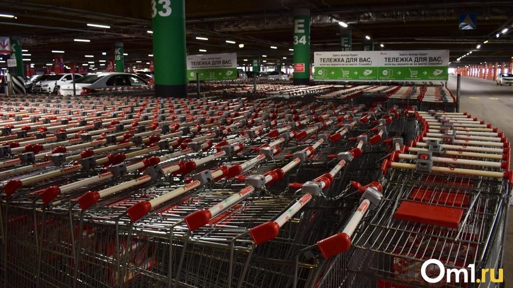 Несмотря на запрет, в Омске открылись крупные магазины и гипермаркеты