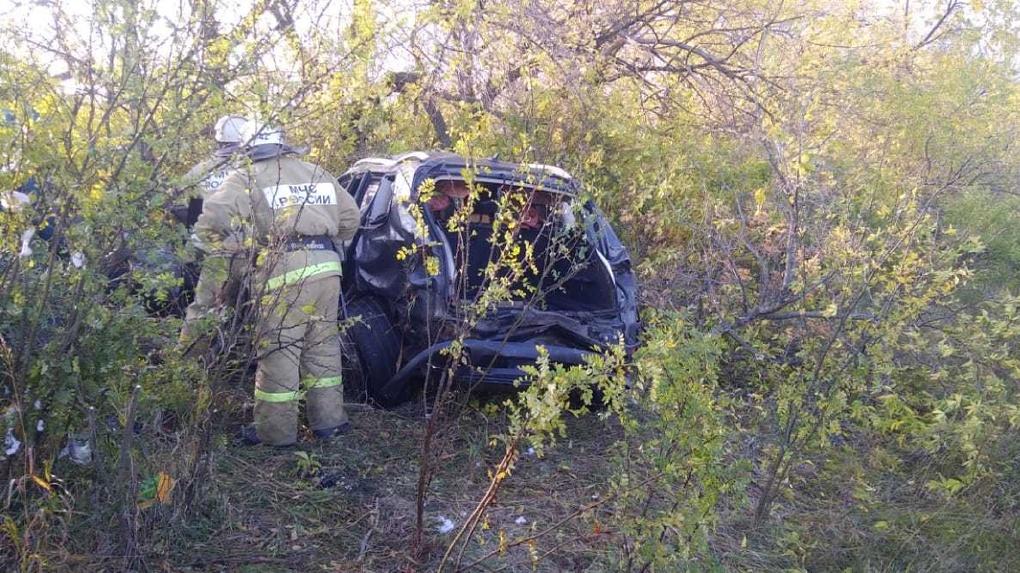 В Омской области в смертельном ДТП умерли три человека