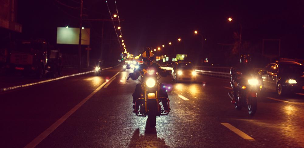 Мотоциклистам Омска запретят по ночам рассекать по улице Конева