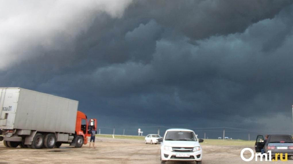 Дождь и грозы надвигаются на Новосибирск в последний день весны