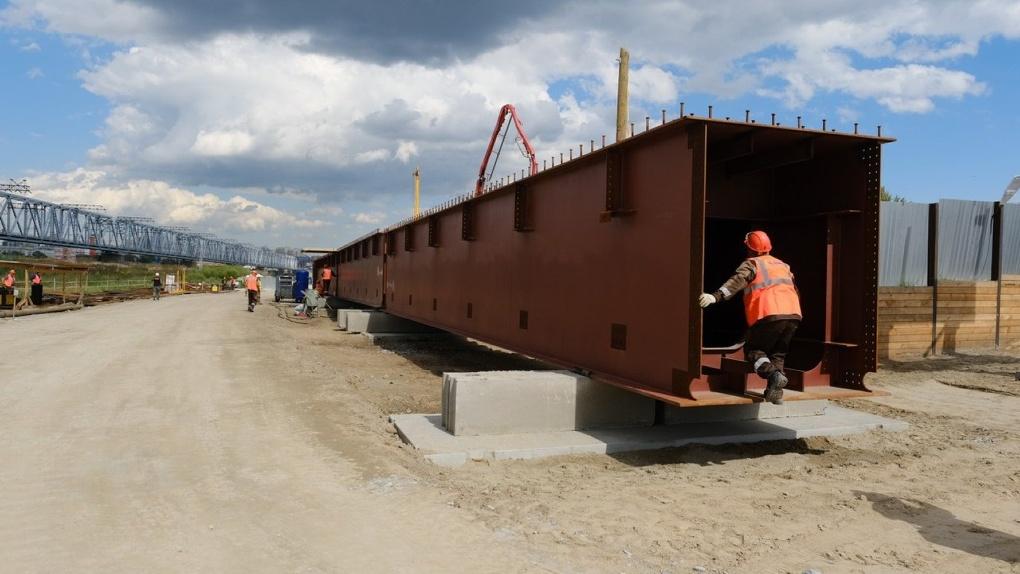 На строительство четвёртого моста в Новосибирске привлекут в два раза больше рабочих