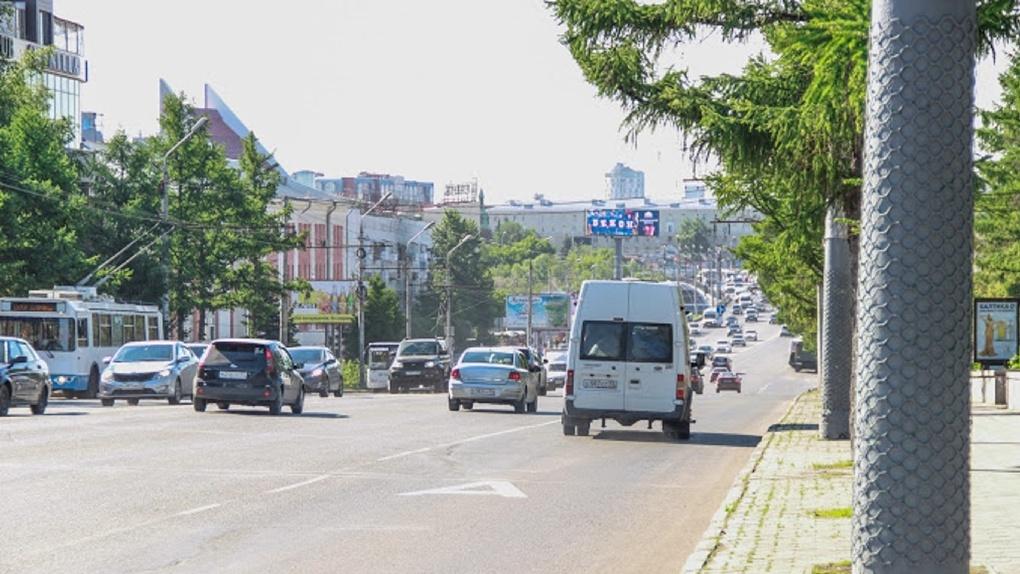 Омским водителям разрешат ехать быстрее еще по одной улице