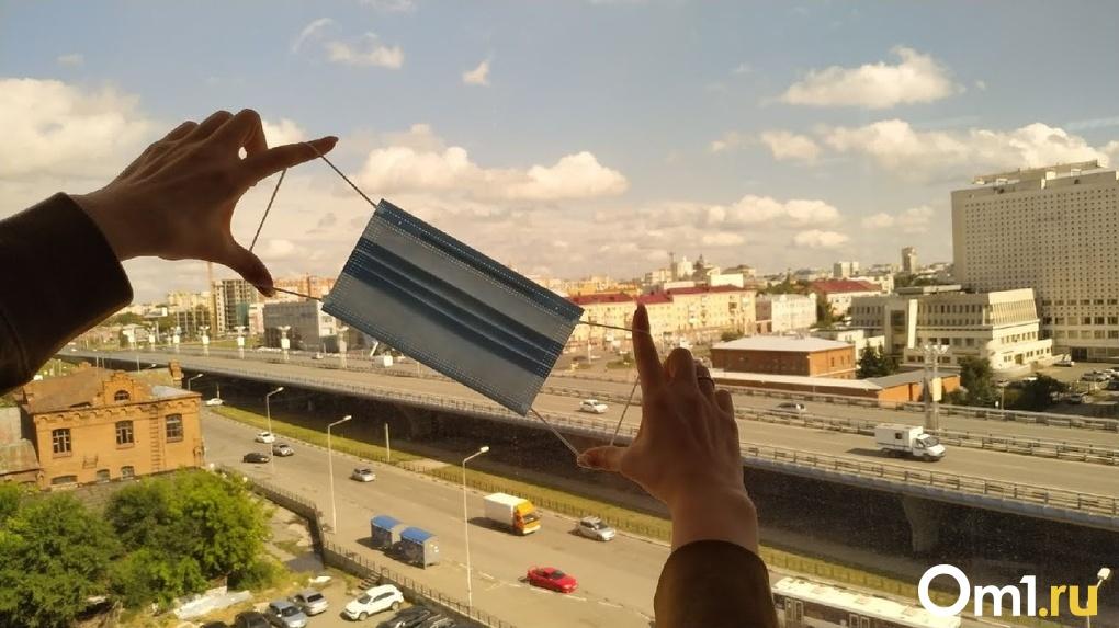 Омичей на остановках и в кафе массово штрафуют за нарушение «масочного» режима