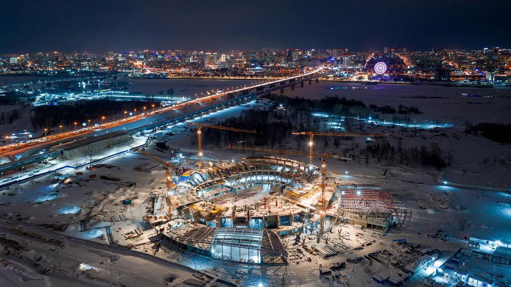Строители нарушают график возведения новосибирского ЛДС