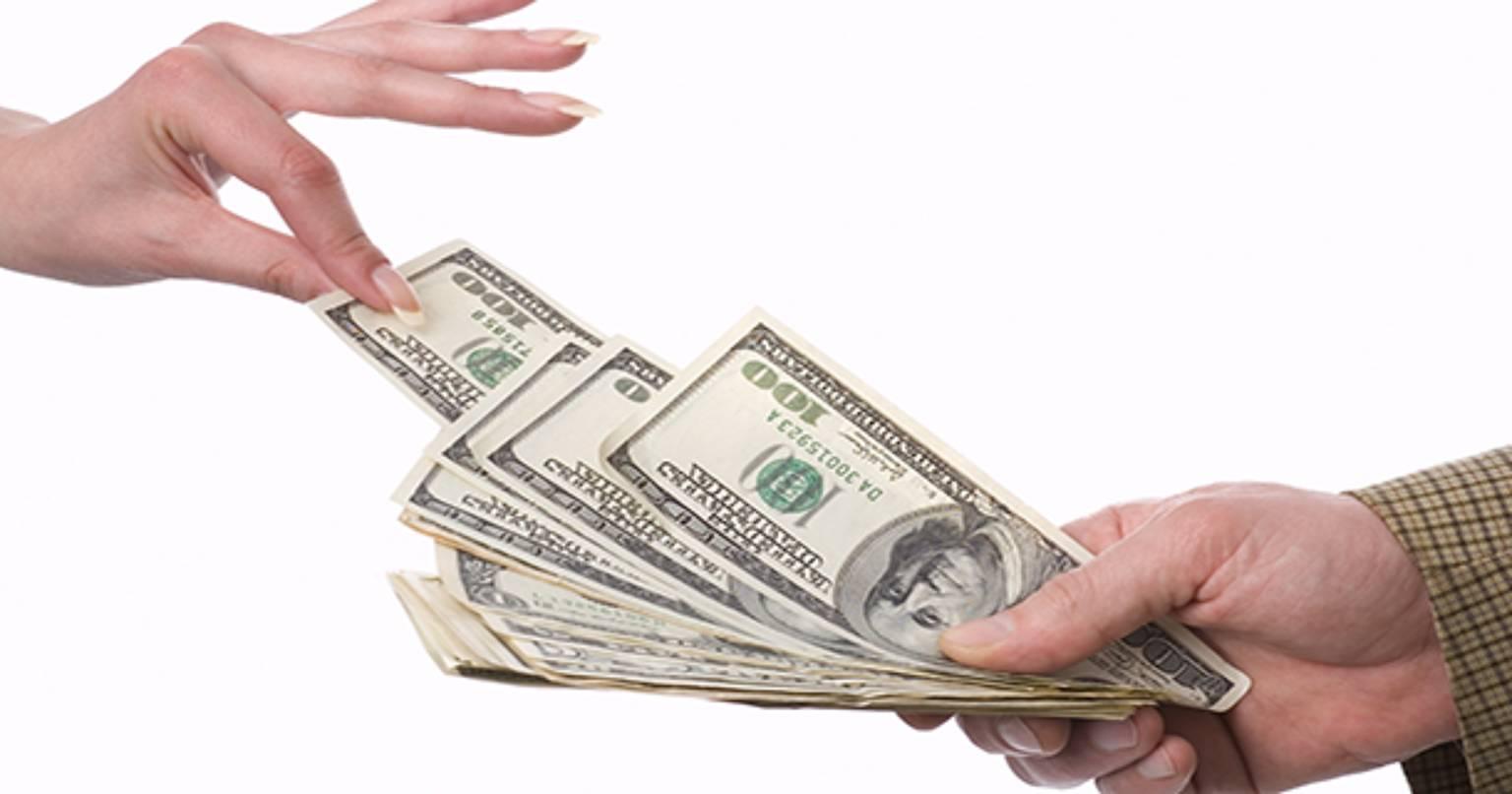 Взять займ в долларах