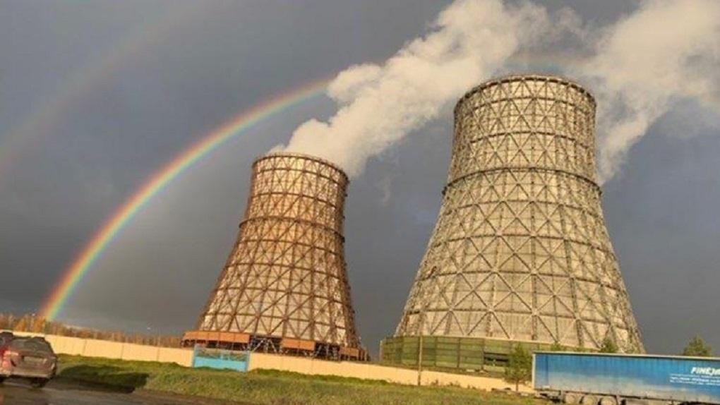 Двойная радуга раскинулась над Новосибирском