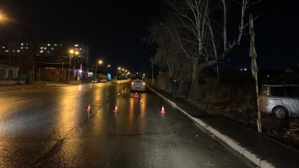 Автоледи насмерть сбила новосибирца на неосвещённой улице