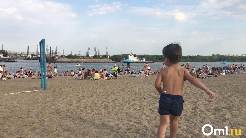 Один из муниципальных пляжей Омска перейдёт к частной компании