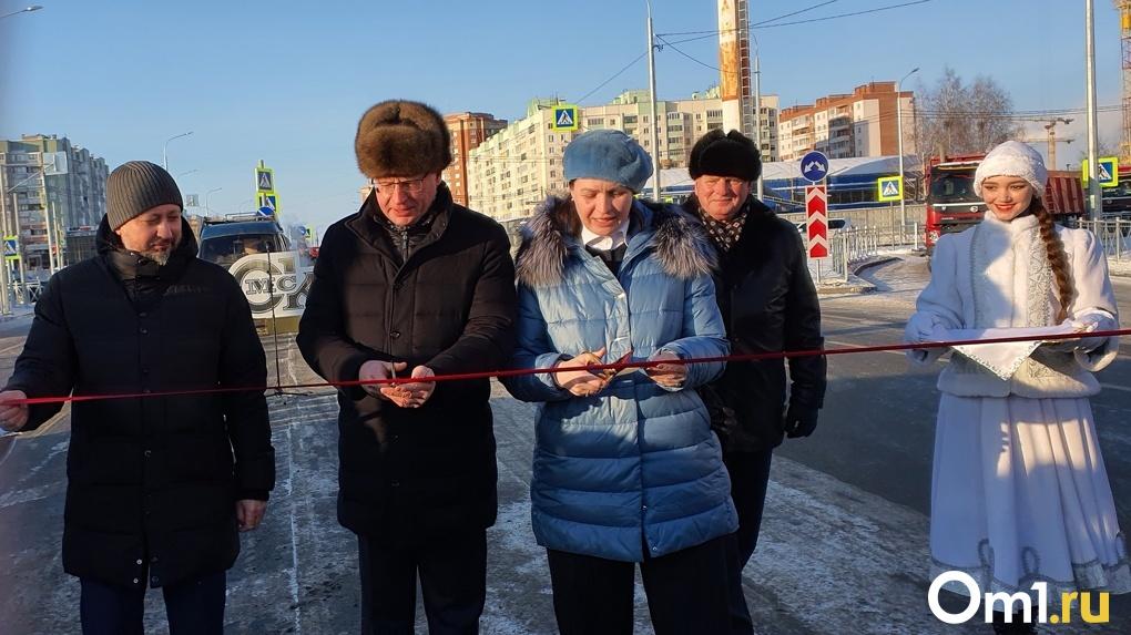 Ни капли не пролилось. В Омске официально открыли новую дорогу-дублёр «за миллиард»
