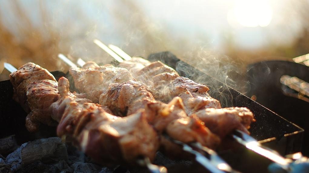 Омичи на День города съели 20 тонн шашлыка и 1,5 тонны плова