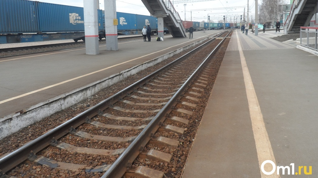 В Новосибирске поезда разрезали на части двух мужчин