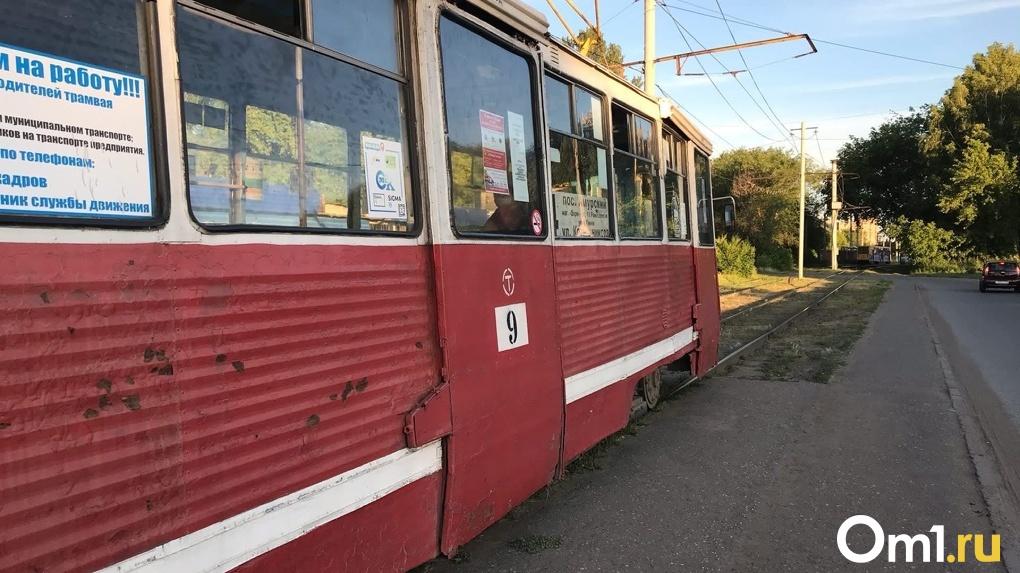 В Омск прибыли столичные трамваи