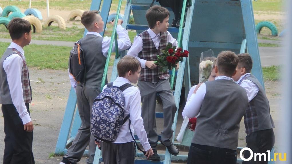 Срочно! Ещё одна школа в Омске уходит на дистанционное обучение