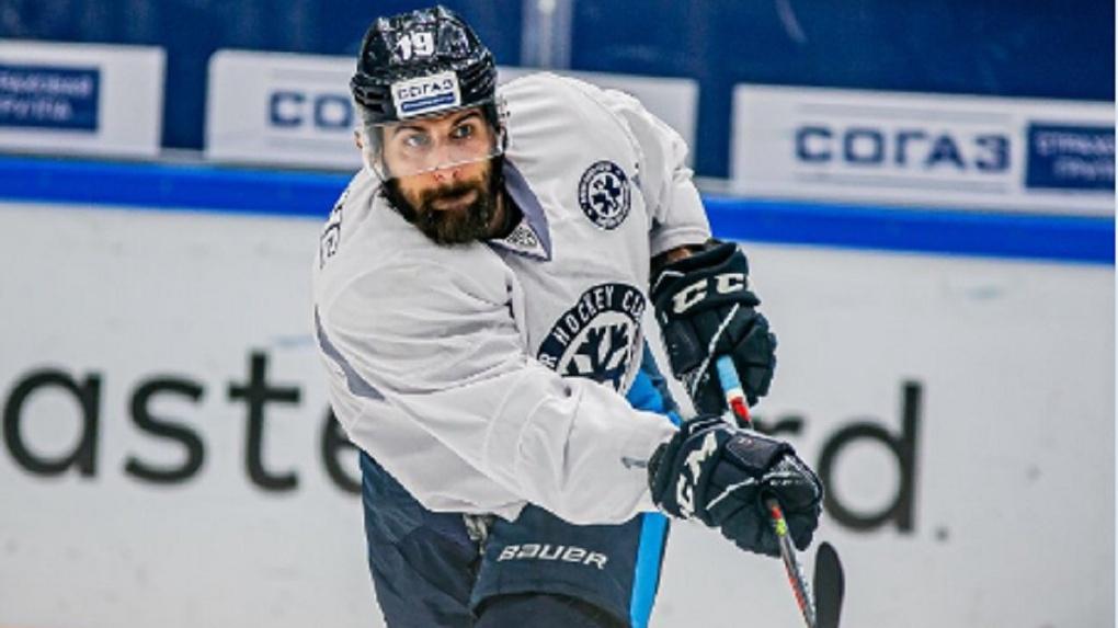 Канадский форвард О'Делл приехал играть за ХК «Сибирь»