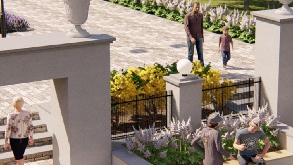 Скверу имени Гагарина в Новосибирске вернут первоначальный замысел