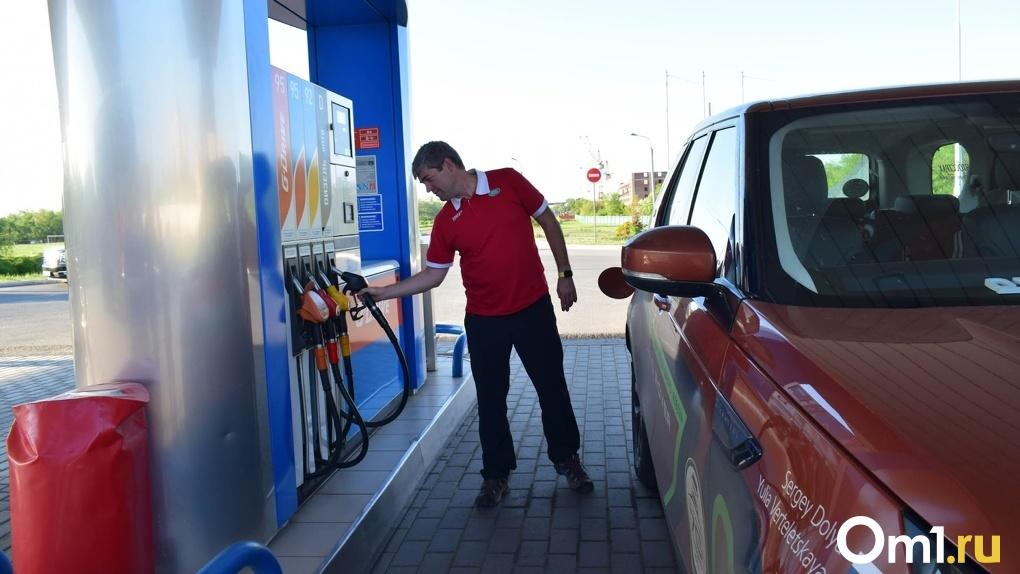 Бензин – дешевле. В Омской области впервые за полтора года снизились цены на автомобильное топливо