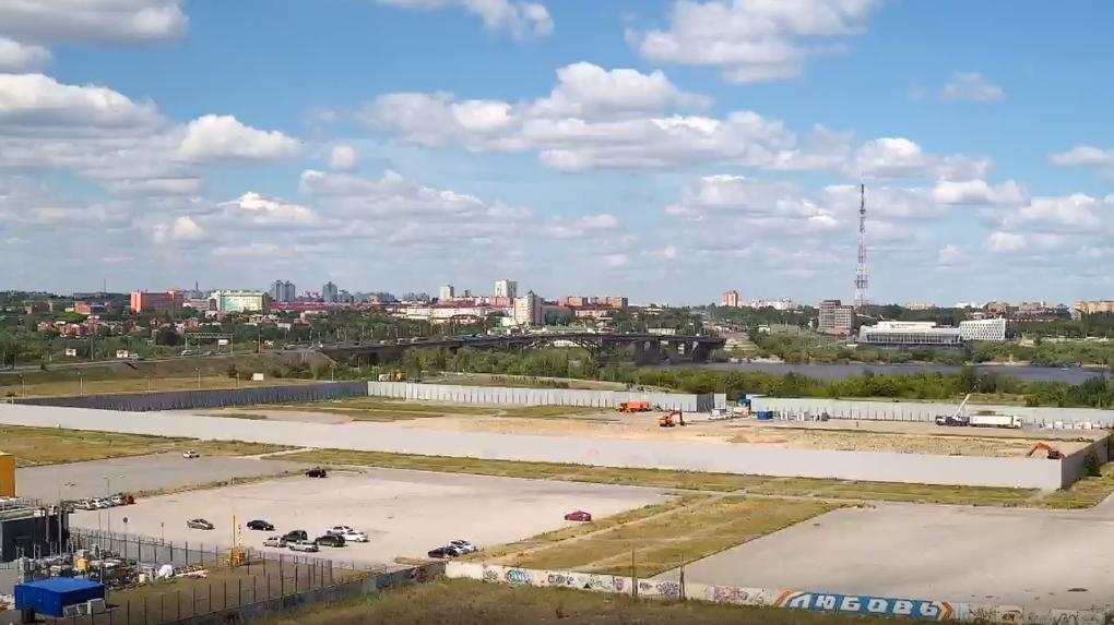 В Омске начались работы по строительству новой арены для «Авангарда»