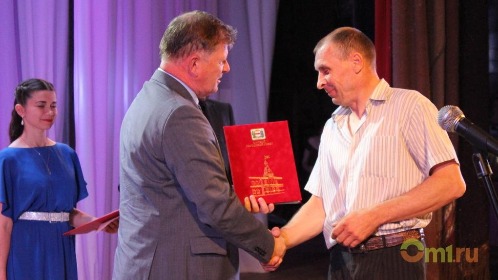 Владимир Корбут поздравил «Пожарное дело» с 15-летием