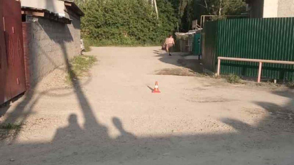 В Новосибирске водитель сбил двух малышей и скрылся с места аварии