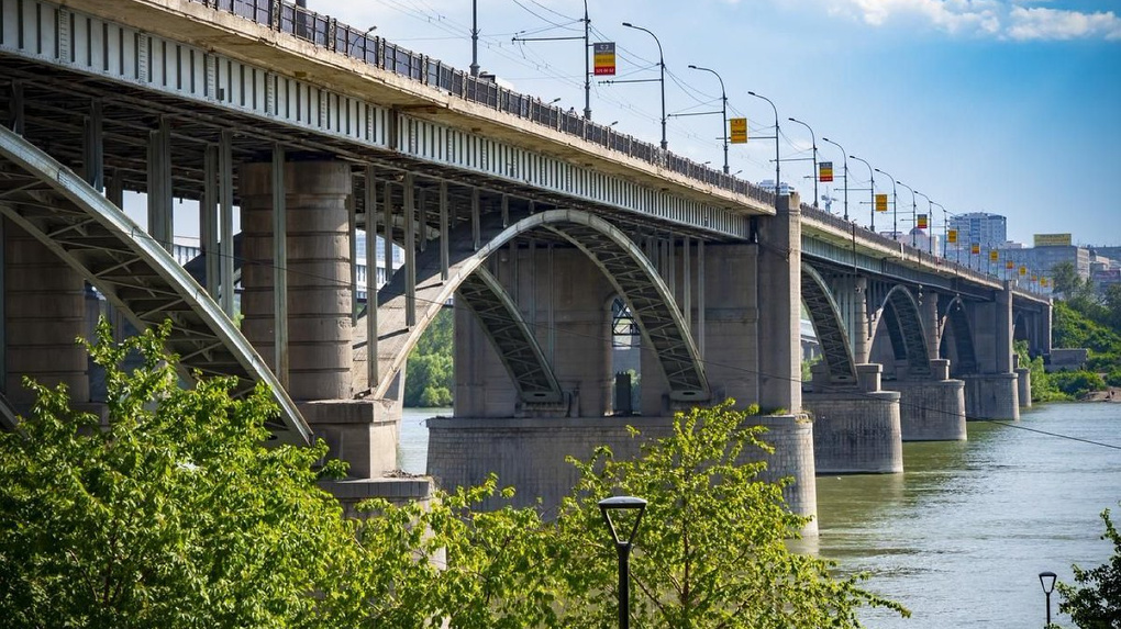 На День Победы закроют новосибирский Коммунальный мост