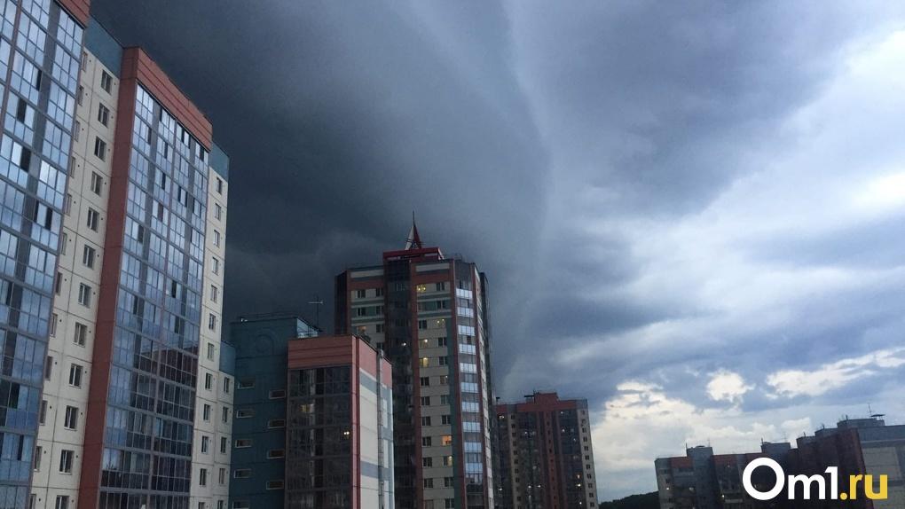 Мощный ураган и снегопад надвигаются на Новосибирскую область из Урала