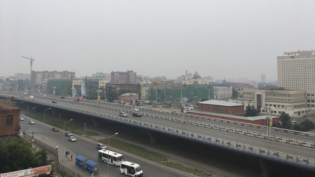 Мгла над Омской областью сохранится до выходных