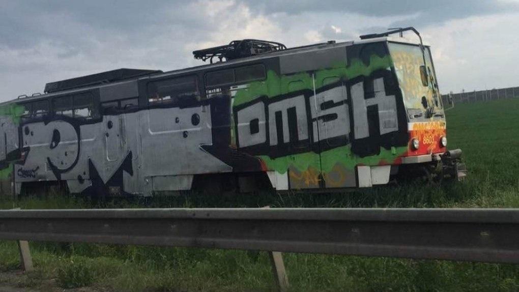 В Чехии появился трамвай с надписью OMSK