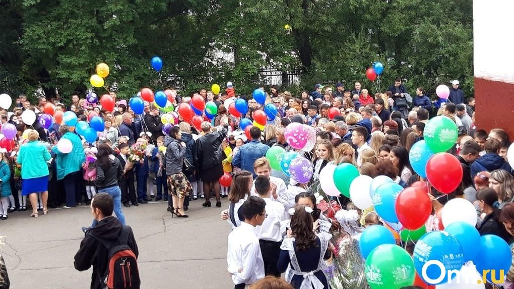 Стало известно, как организуют школьные линейки на 1 сентября в Омске