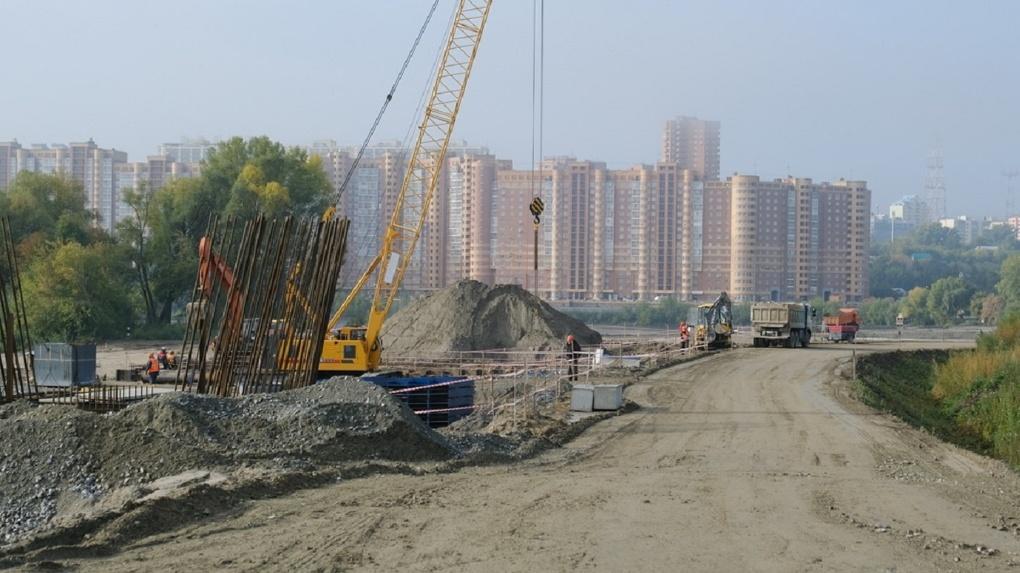 Опоры для четвёртого моста начали возводить в Новосибирске