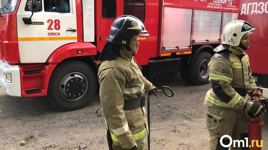 «Поздно сообщили о возгорании». В Омской области ночью сгорел частный дом