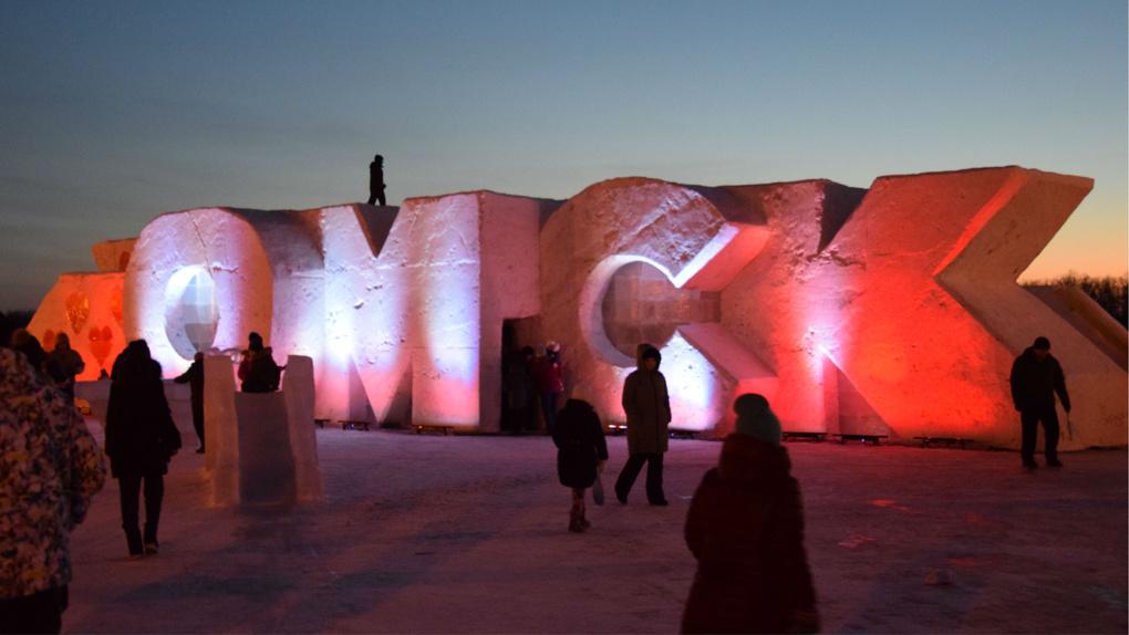 Как преобразилась Омская крепость к Новому году